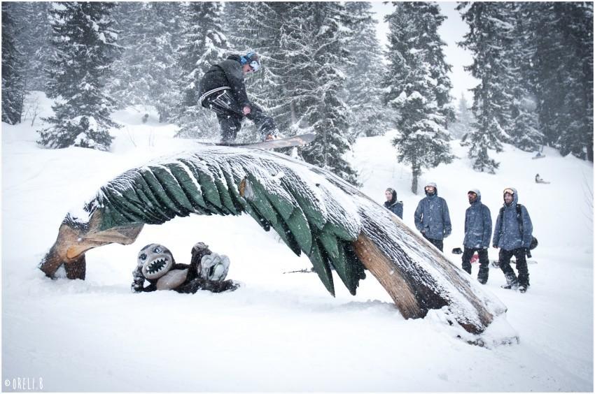 Leer over bosbehoud en biodiversiteit in het freeride en freestyle snowpark