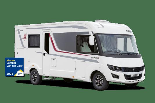 ANWB kiest Camper en Caravan van het Jaar 2022